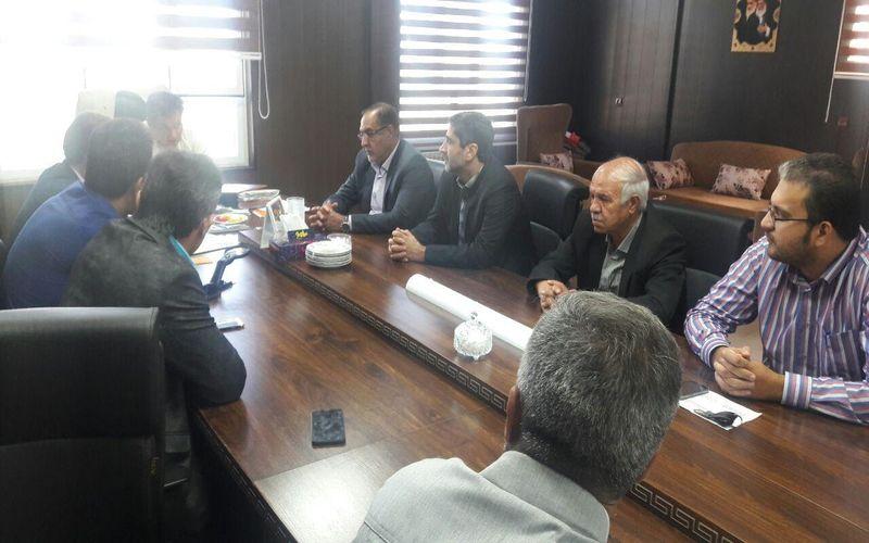 نشست مقامات باشگاه مس و شهرداری منطقه سه برای حل مشکلات ساختمان باشگاه