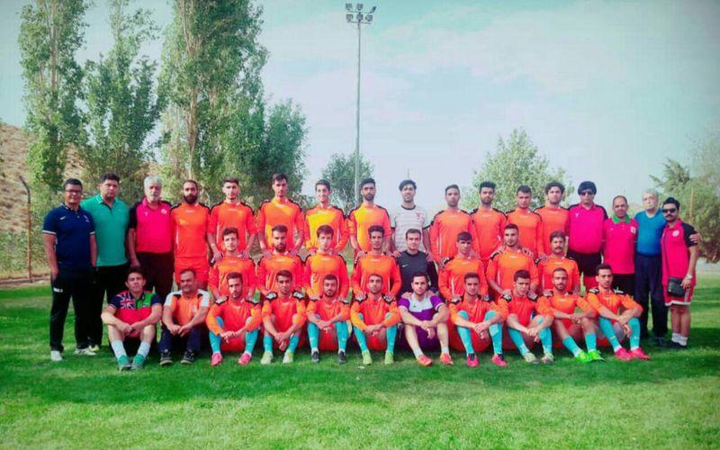 آمادگی تیم فوتبال مس نوین برای رقابتهای لیگ دو و حذفی