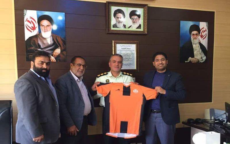 دیدار مقامات باشگاه مس با فرماندهی جدید نیروی انتظامی کرمان