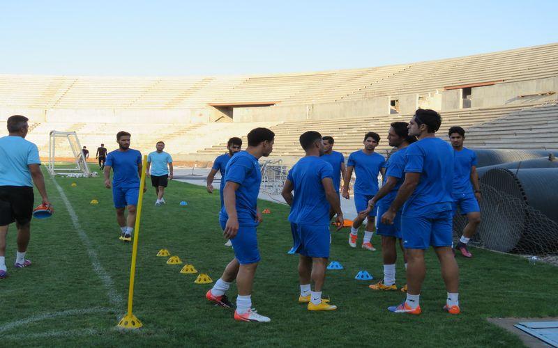 از سرگیری تمرینات تیم فوتبال مس برای بازی با شاهین بوشهر