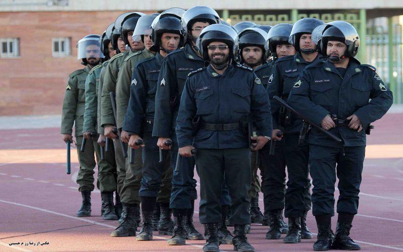 هفته نیروی انتظامی بر سبزپوشان حافظ امنیت و اقتدار گرامی باد