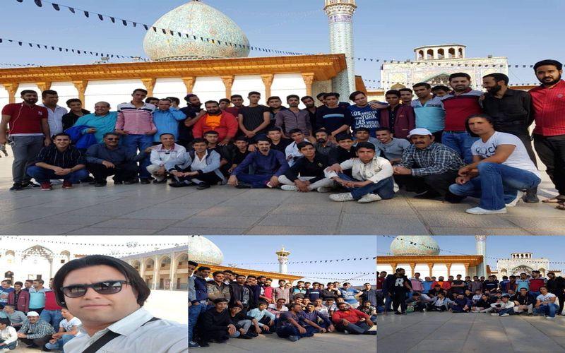 حضور پرشور هواداران مس در شیراز برای بازی با قشقایی