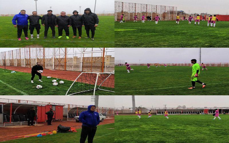 تمرین با نشاط مسیها زیر باران پائیزی/انگیزه حرف اول سربازان مسی