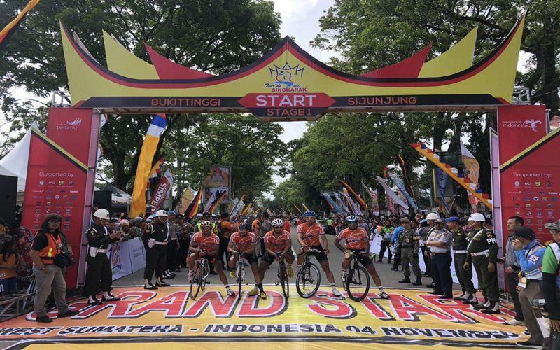 موفقیت دوچرخهسوار مس در مرحله اول تور جهانی اندونزی