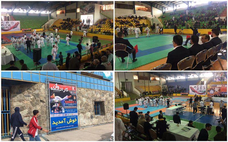 نتایج کاراتهکاهای دختر و پسر مس در مسابقات کاراته وان قهرمانی کشور