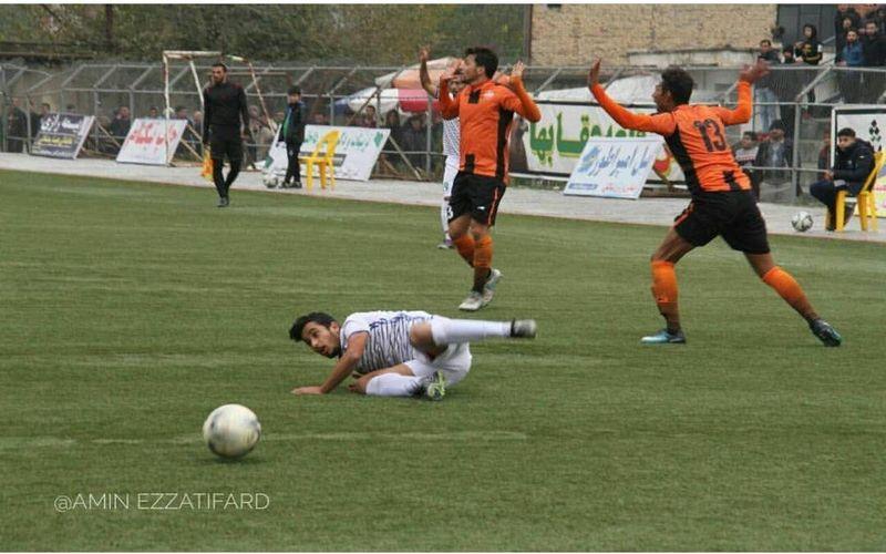 شکست تیم فوتبال مس نوین در قلعه عقاب ها