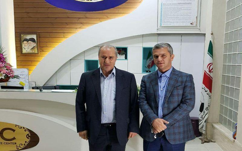 دیدار سرپرست باشگاه مس با رئیس فدراسیون فوتبال و مقامات سازمان لیگ