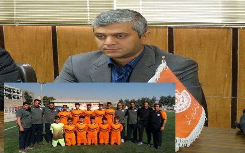 پیام تبریک سرپرست باشگاه مس بابت صعود نونهالان مس به مرحله نهایی لیگ برتر