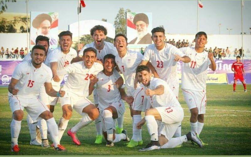 مدافع تیم مس به همراه تیم ملی امید در اردن