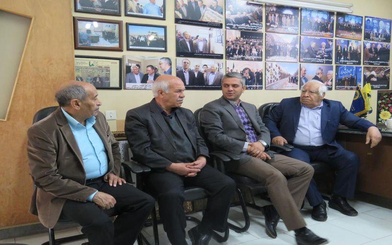 دیدار سرپرست باشگاه مس با پیشکسوت خیر و بزرگمرد ورزش کرمان