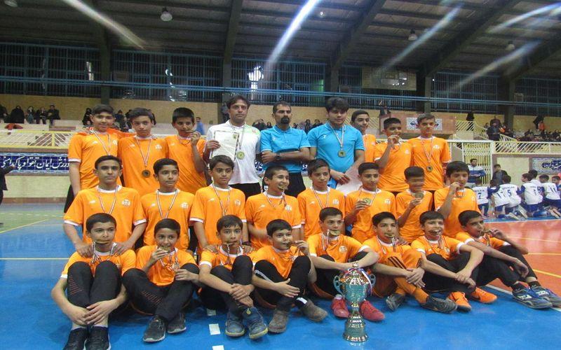 قهرمانی تیم فوتبال زیر 13 سالههای مس در لیگ قهرمانی شهرستان