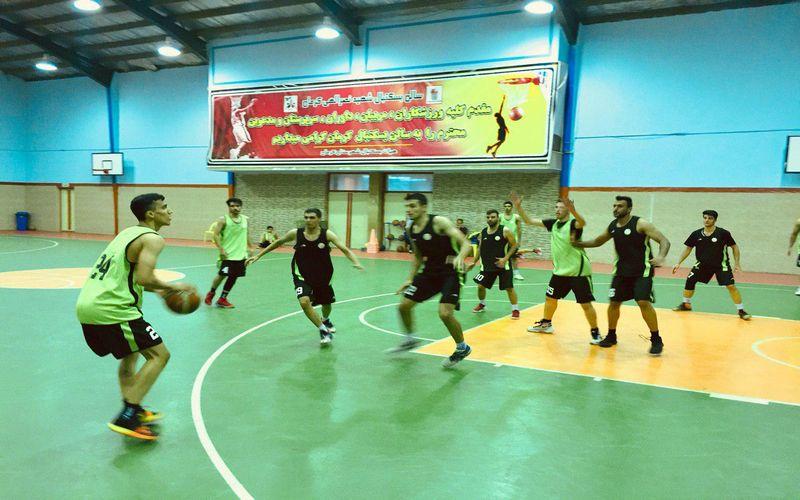 تمرینات شاداب و با روحیه بسکتبالیستهای مس برای پلیآف لیگ یک(عکس)