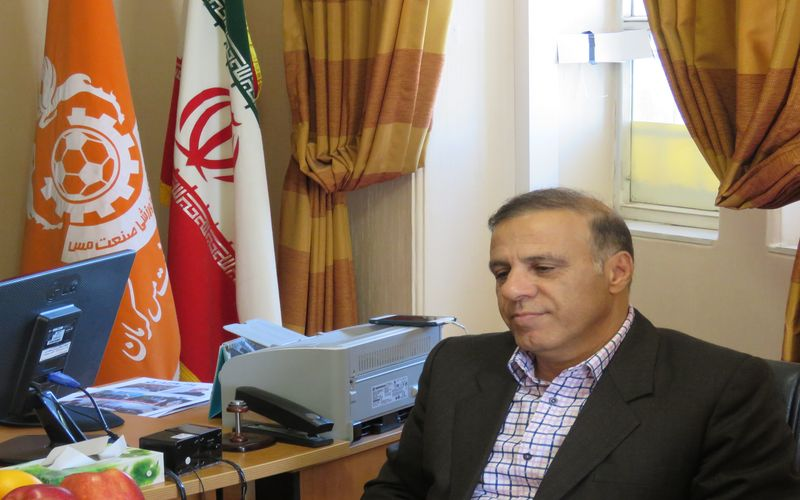 انتخاب آقای پرویز ابراهیمی به عنوان مدیر عامل باشگاه مس کرمان