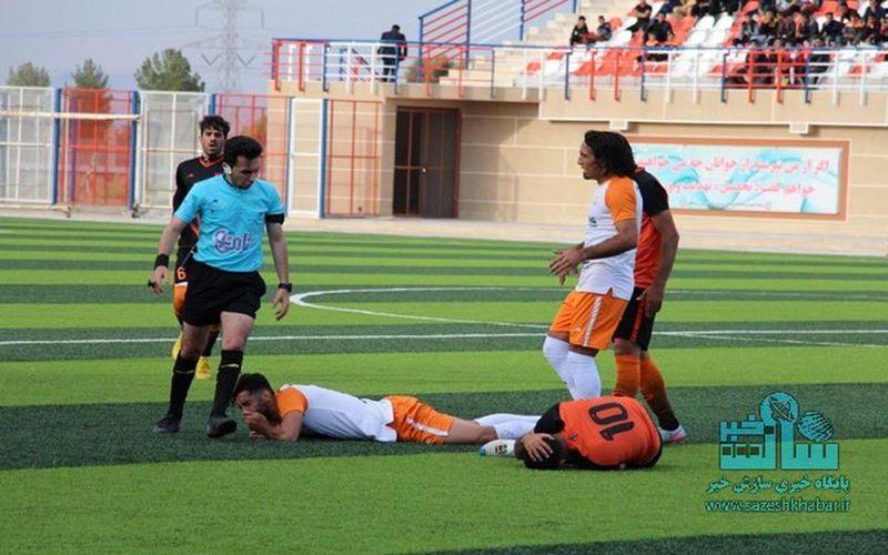 حسین زیاری و دومین قضاوت این فصل برای مس در بازی با نود