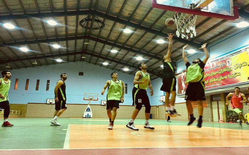 سروقامتان غیور تیم بسکتبال مس آماده بازی فینال اول در بندرعباس