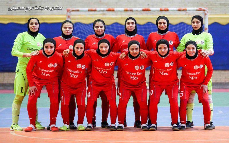 پایان لیگ برترفوتسال کشور با چهارمی دختران کویر مس/ایرانمنش:مقام سومی شایسته ما بود