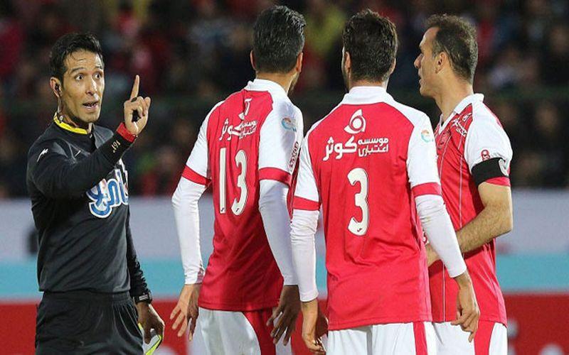 علی صفایی و اولین قضاوت برای تیم مس در بازی با اروند