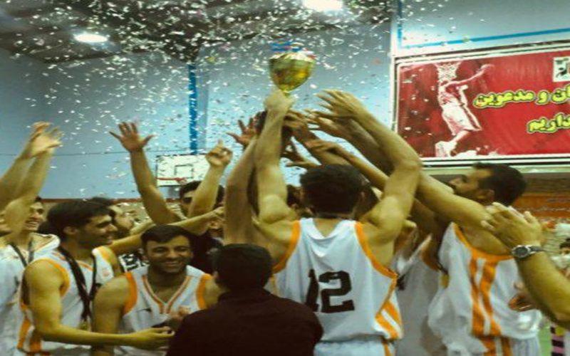 جام قهرمانی لیگ دسته اول جنوب در سبد بسکتبالیستهای مس