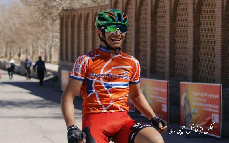 قهرمانی دوچرخهسوار مس در مرحله آخر تور کرمان
