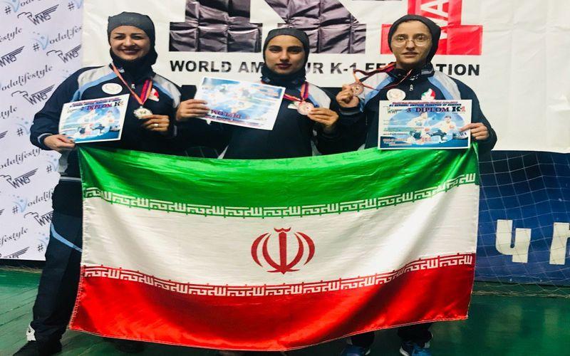 کسب مدال مسابقات آزاد جهانی کونگ فو توسط بانو مس