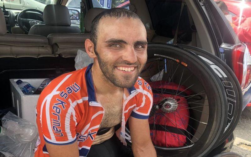 دعوت دوچرخه سوار باشگاه مس به اردوی تیم ملی