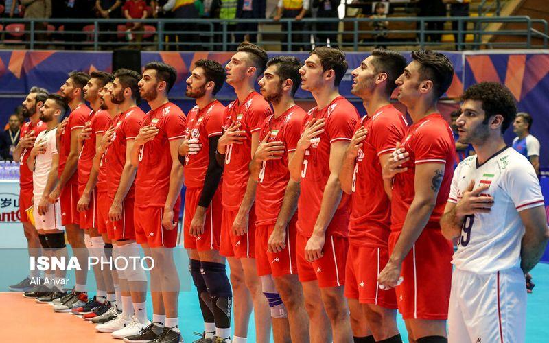 تبریک شاهکار والیبالیست های غیور ایران در لیگ جهانی