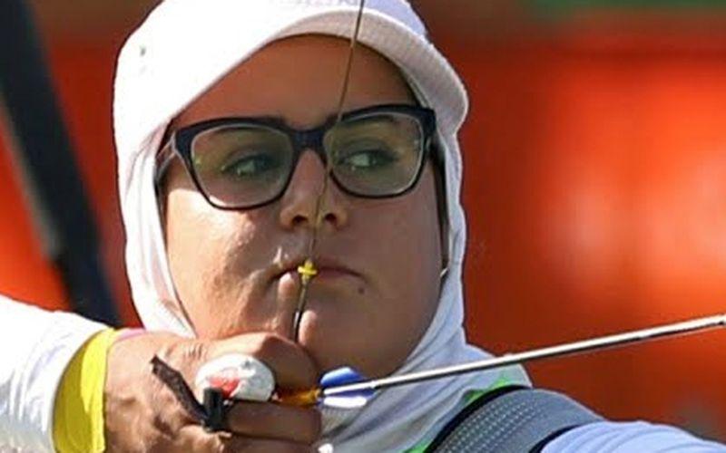 بانو کماندار در چالشی جدید/حضور زهرا نعمتی در مسابقات آزمایشی المپیک