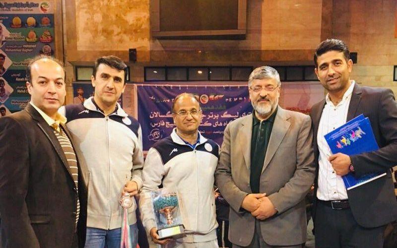 معرفی کادر فنی تیم تکواندو مس کرمان در لیگ برتر