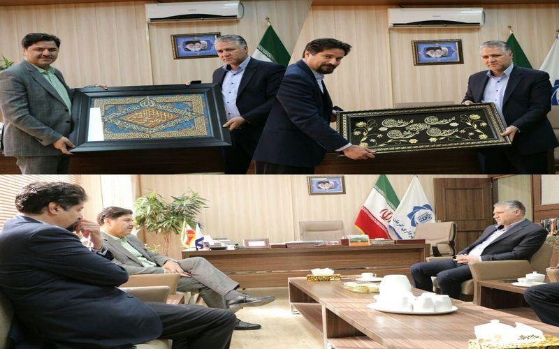 دیدار مدیرعامل باشگاه مس و شهردار کرمان/تداوم تعامل شهرداری کرمان با باشگاه مس کرمان