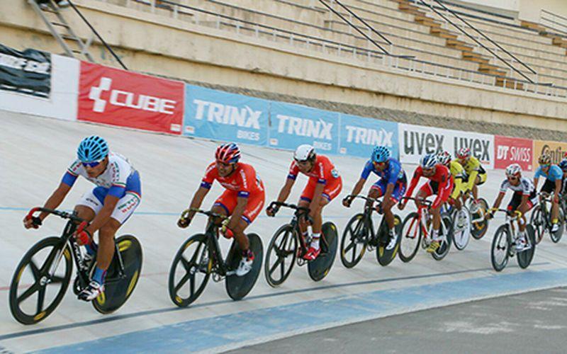دوچرخه سواران مس آماده مرحله دوم رقابت های لیگ برتر پیست