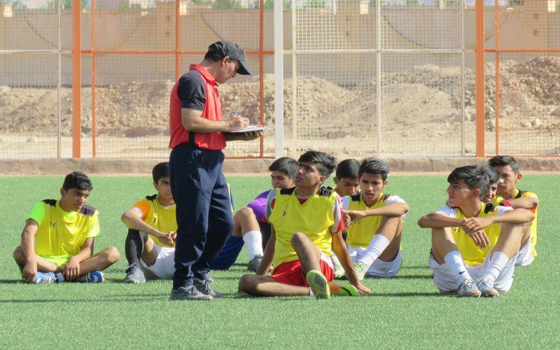 گزارش تصویری از تست گیری تیم های نوجوانان و نونهالان مس کرمان