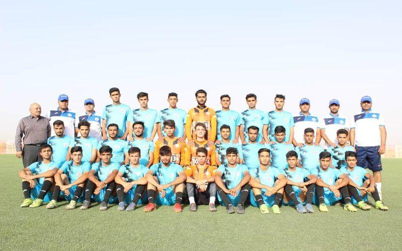 تیم فوتبال جوانان مس کرمان آماده شروع بازی های لیگ برتر(عکس)
