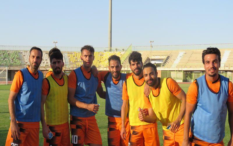 آخرین تمرینات تیم فوتبال مس پیش از شروع لیگ/شاداب و بی تاب به پیش(عکس)