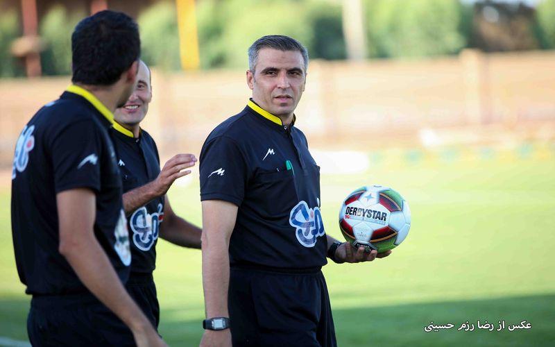 محمد حسین ترابیان داور بازی تیم های مس و رایکا