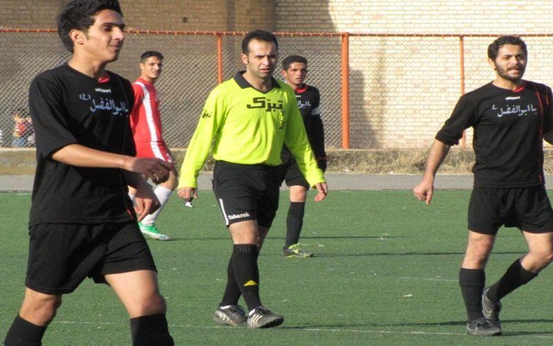 حسین زمانی و سومین قضاوت او برای مس در بازی با ملوان