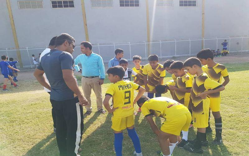گزارش تصویری از طرح استعدادیابی فرهنگستان فوتبال در چهار شهر استان کرمان