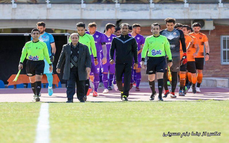 علی صفایی داور بازی ذوب آهن و مس در جام حذفی