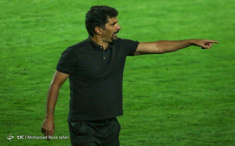 حسینی: روی بد فوتبال در بازی با سپاسی به سمت مس بود/خبر مذاکره ذوب آهن کذب محض بود