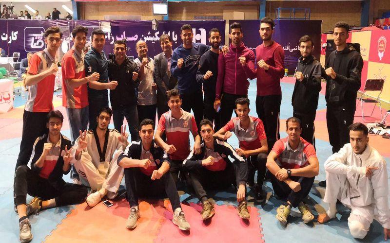 سرافرازی تکواندوکاران مس کرمان در بازی های روز گذشته لیگ برتر