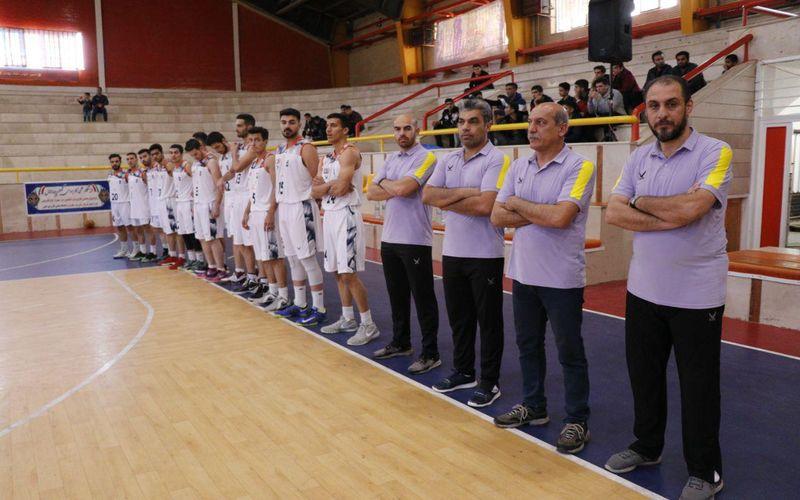 لغو بازی روز دوشنبه بسکتبال مس در قزوین