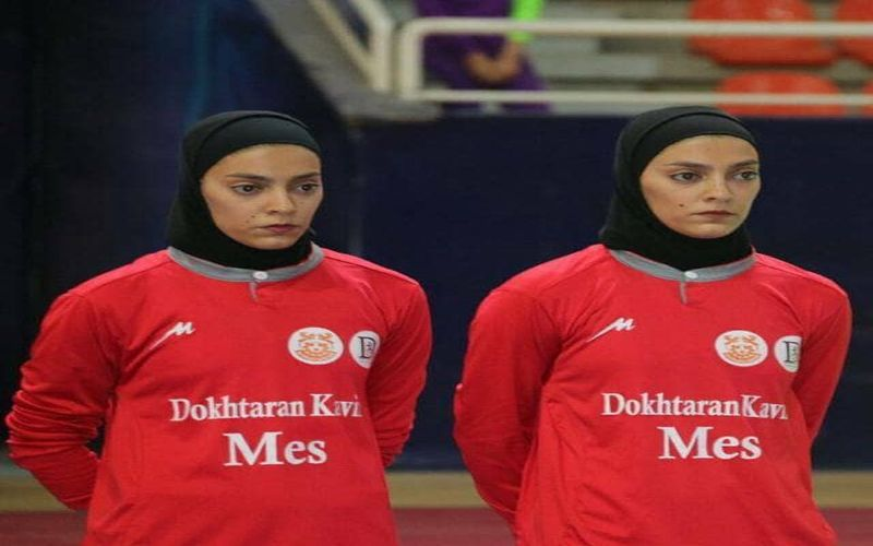 خواهران دو قلو دختران فوتسال مس در اردوی تیم ملی
