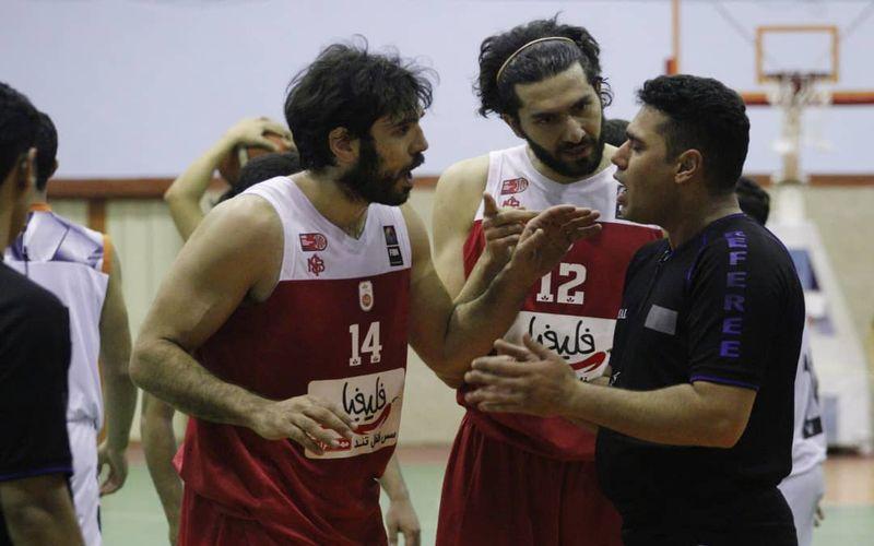 پیروزی بدنام مهرام برابر بسکتبال مس/جنجال در حد تیم ملی!(عکس)