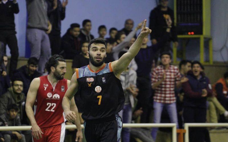 بسکتبالیست های مس سبد قزوین را در کرمان فتح کردند