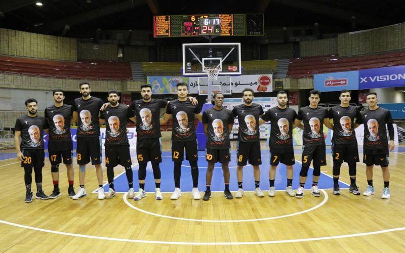 بسکتبالیست های مس پس از شکست برابر مهرام راهی آبادان شدند(عکس)
