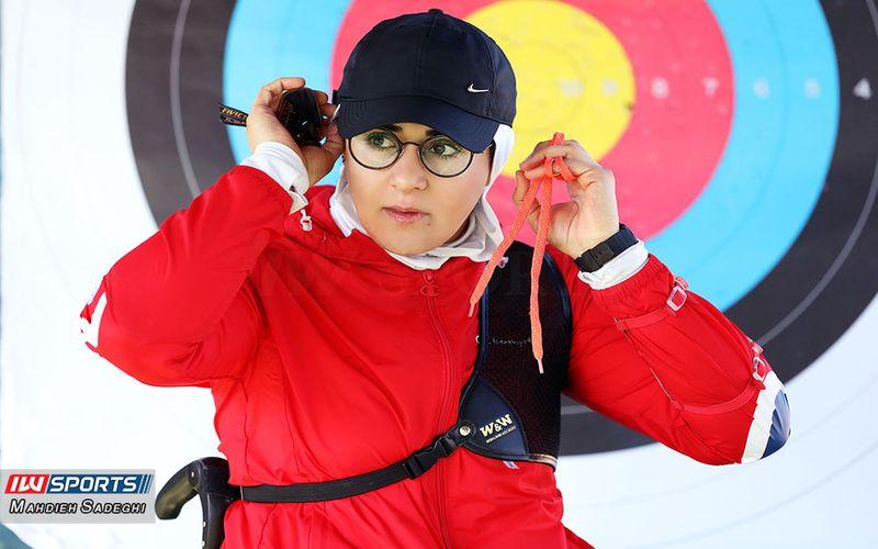 تمرینات زهرا نعمتی برای کسب سهمیه المپیک و حضور در پارالمپیک(عکس)