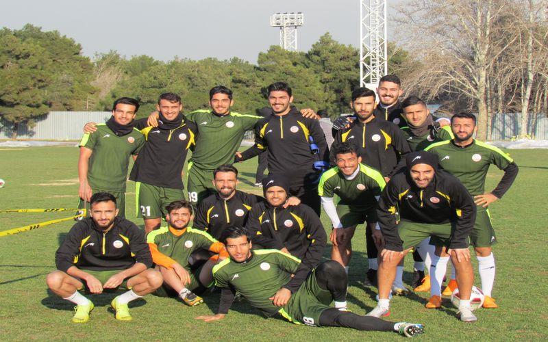 تمرین شاداب مسی ها در زمین شماره دو ورزشگاه آزادی تهران(عکس)