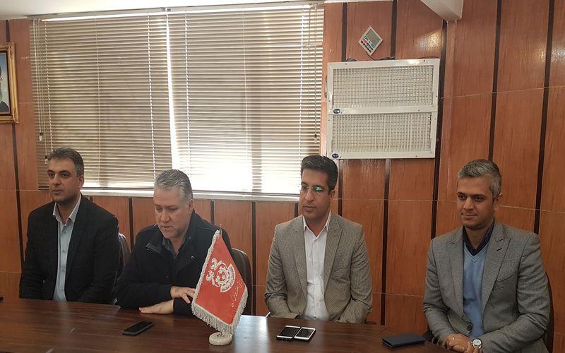 معارفه معاونت فنی و معاونت مالی و اقتصادی باشگاه مس کرمان(عکس)