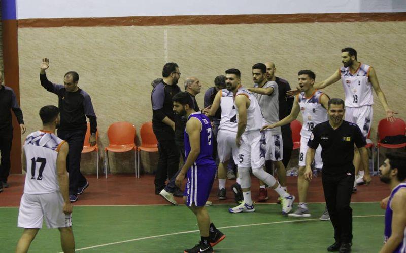 تثبیت ماندگاری بسکتبالیست های مس در لیگ برتر با پیروزی بر نیروی زمینی(عکس)