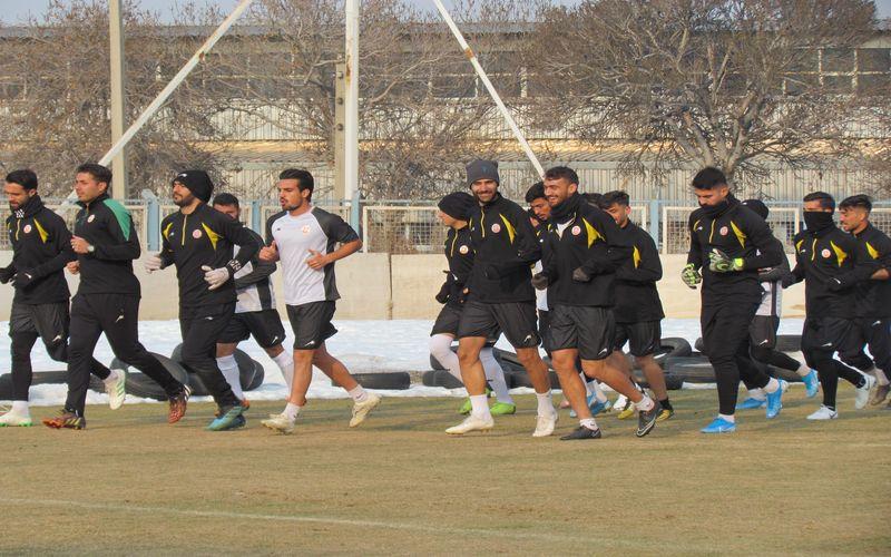 تمرینات تیم فوتبال مس کرمان مطابق برنامه ادامه خواهد داشت