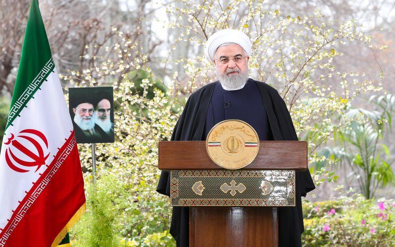 رئیسجمهور در پیام نوروزی به مناسبت حلول سال 1399: حماسه اداره اقتصاد کشور بدون نفت